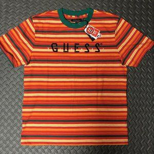 GUESS J Balvin Vibras T shirts Striped Los Angeles